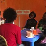 Tea With Girls In The Safe House & Past Students Visit WkW Centre