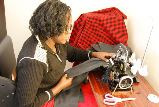 Women for Women in Africa Sewing-room-403